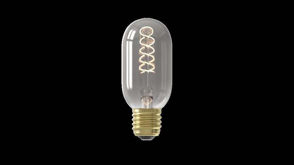 Flex Tubelar T45 Titanium LED Filament Lamp | 4W | E27 | 2100K