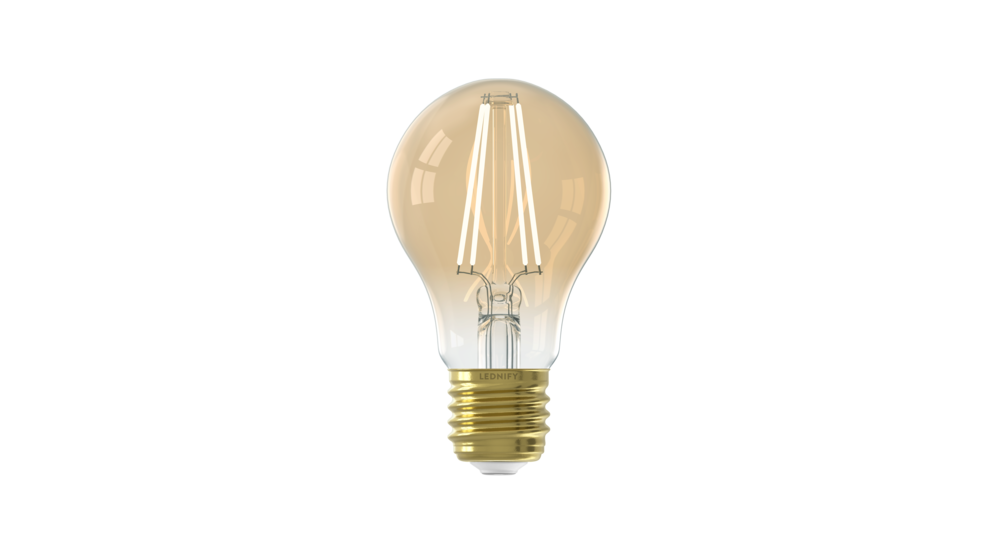WiZ Connected Smart LED Standaard Filament Lamp   6W   CCT - Amber   E27