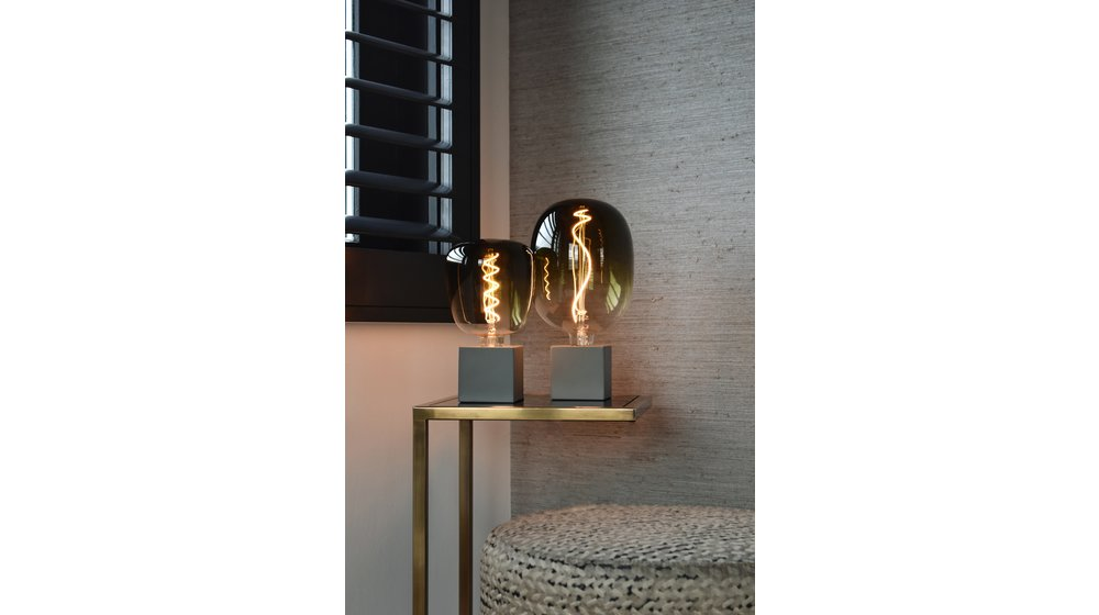 LED Tafellamp Grijs | E27