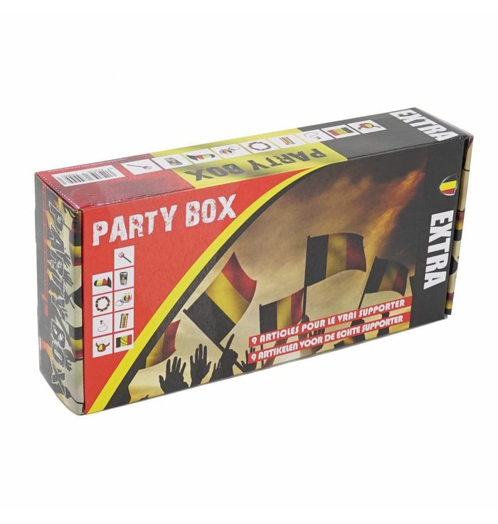 Partybox 9-delig