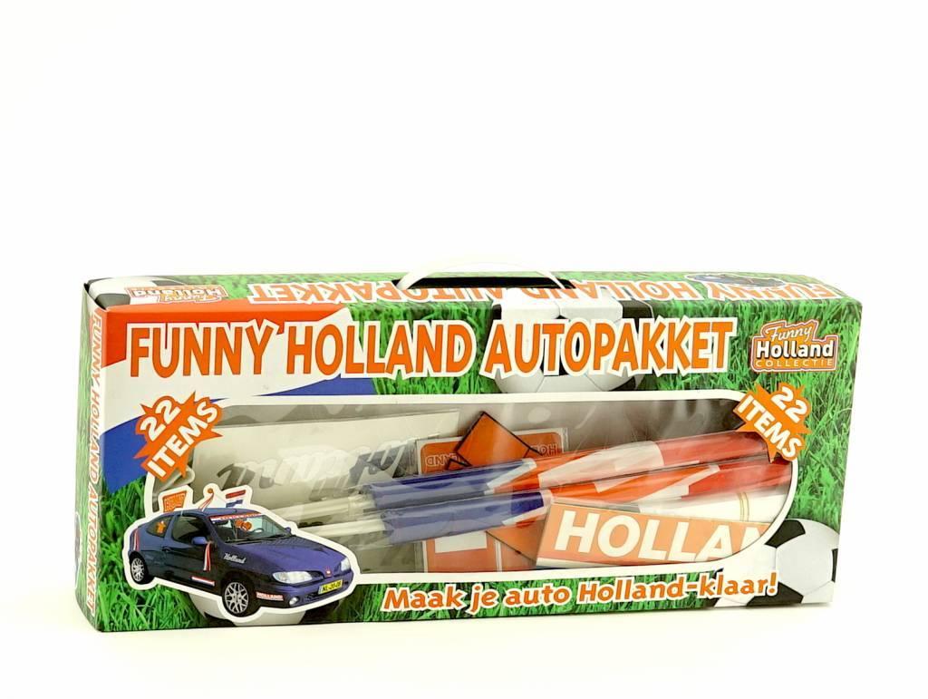 Funny Nederland autopakket (22 items)