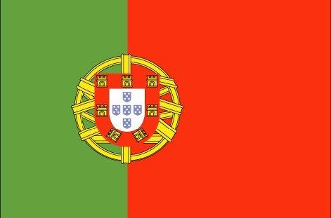 Portugese  vlag  (200 x 150 cm)