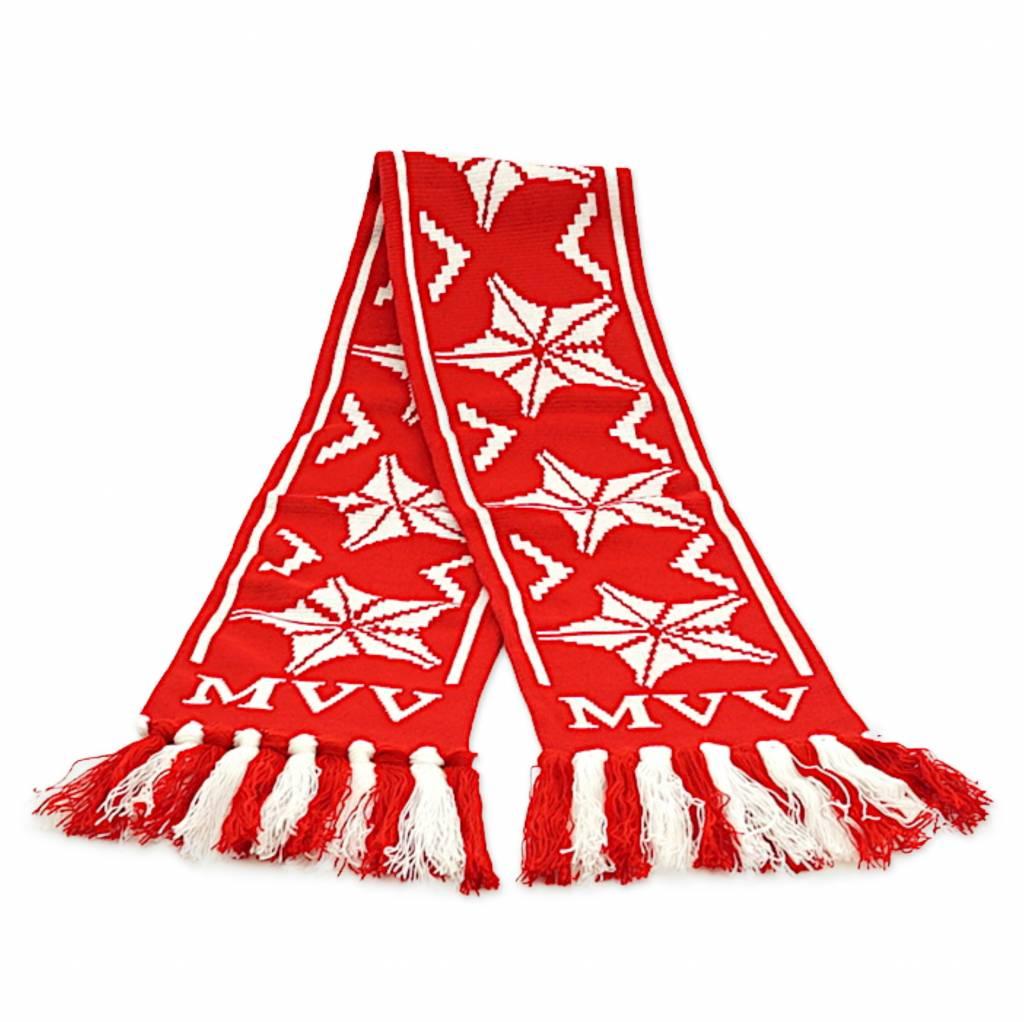 Sjaal kerst met knopen
