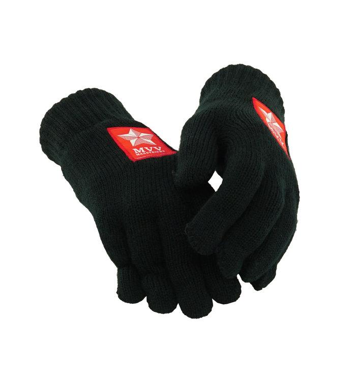 Zwarte handschoenen - heren