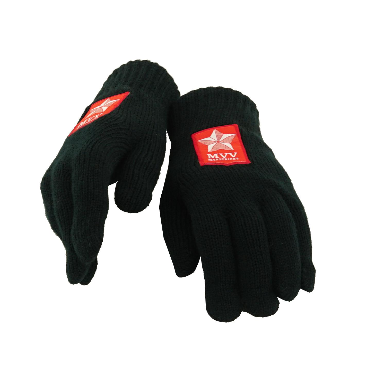 Zwarte handschoenen - dames