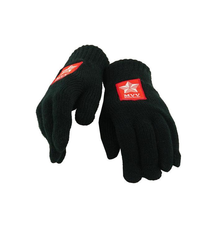 Zwarte handschoenen - kids