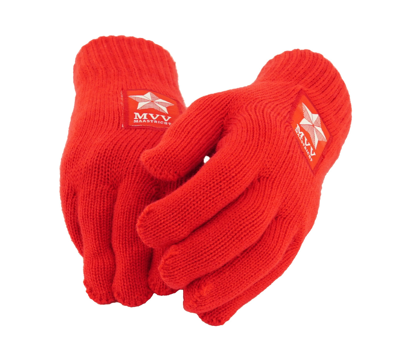 Rode handschoenen - heren