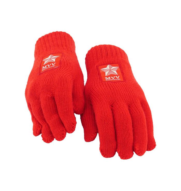 Rode handschoenen - kids