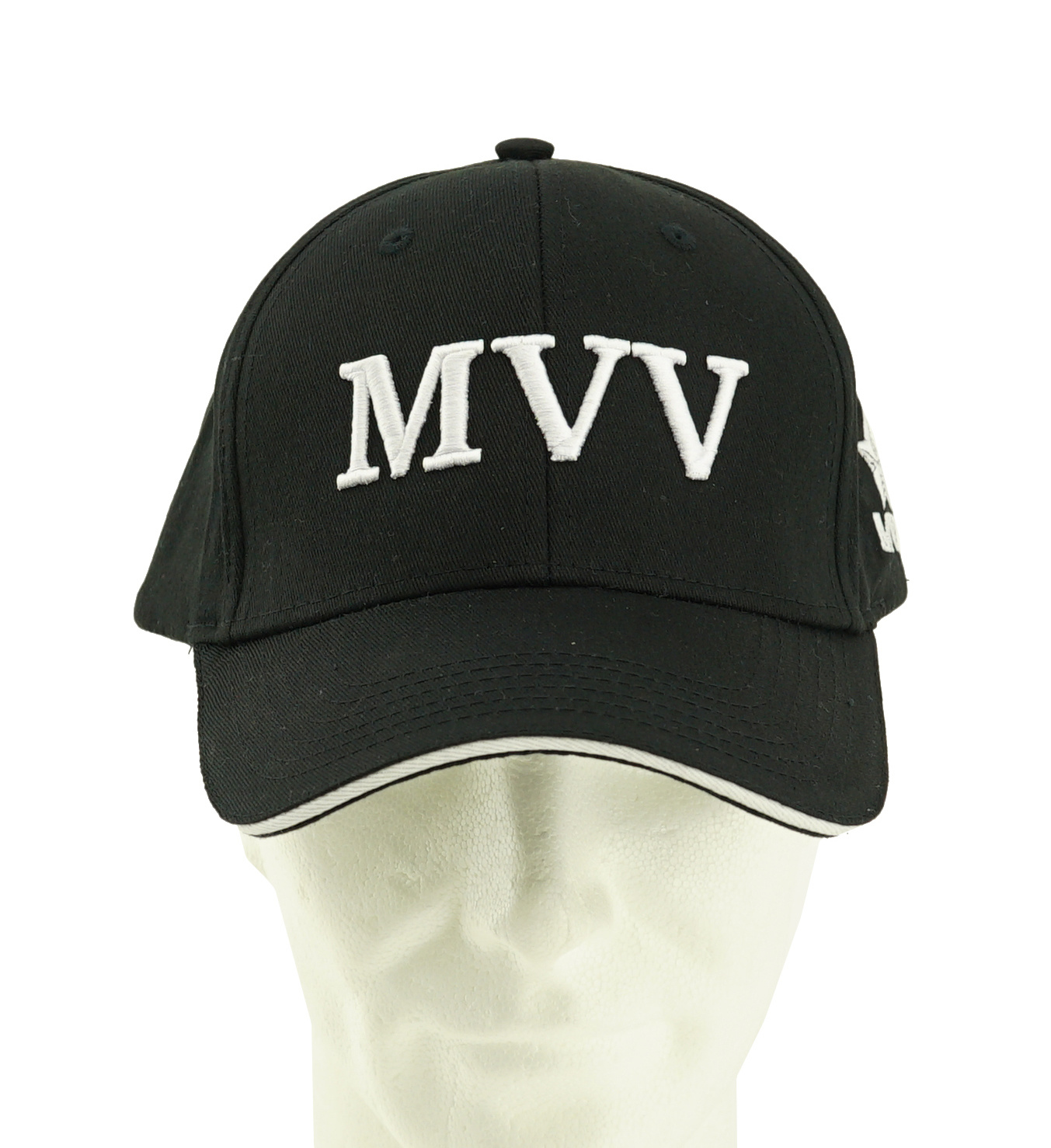 Pet zwart MVV in borduur - MVV