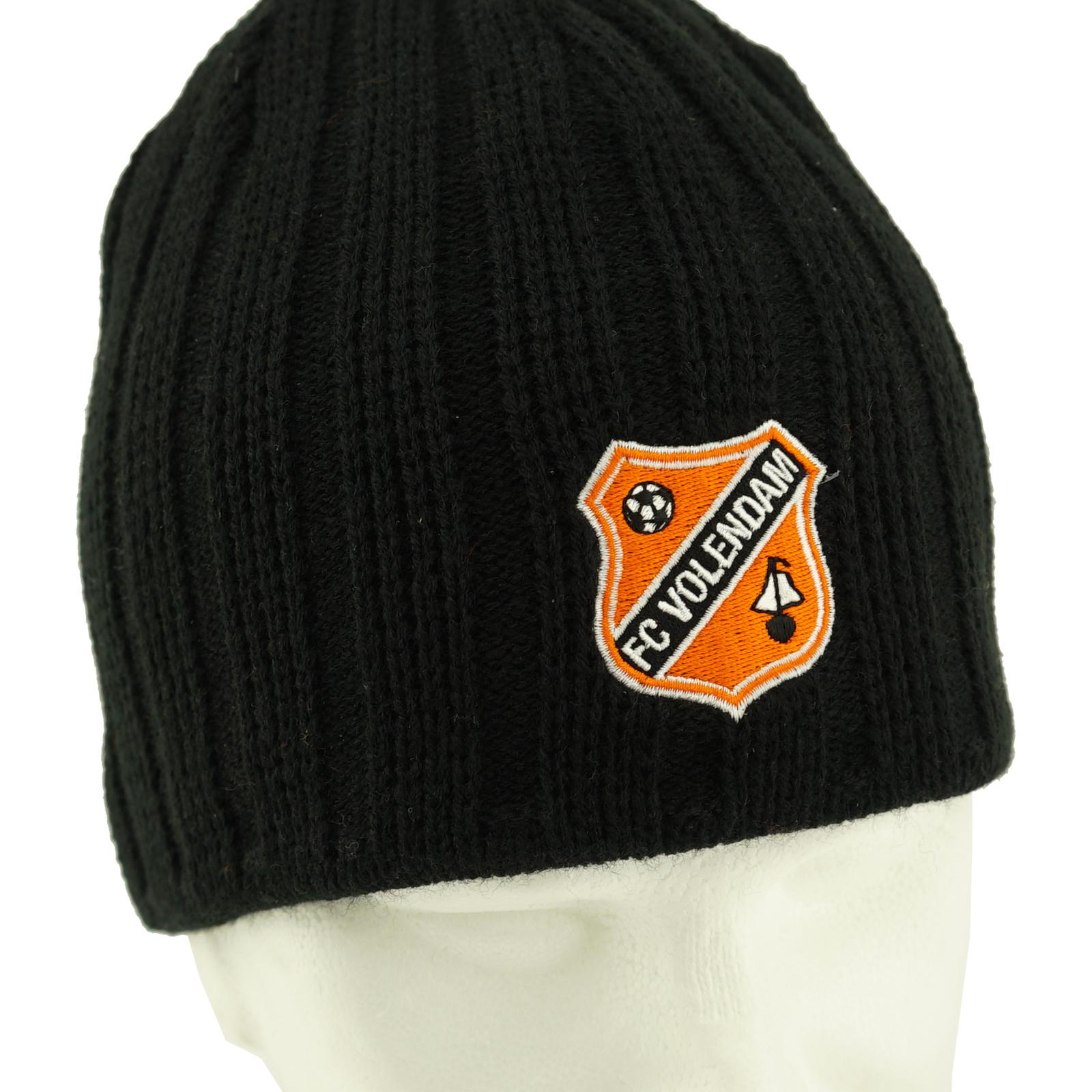 Zwarte muts badge logo