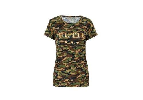 Heavn tshirt rome army green
