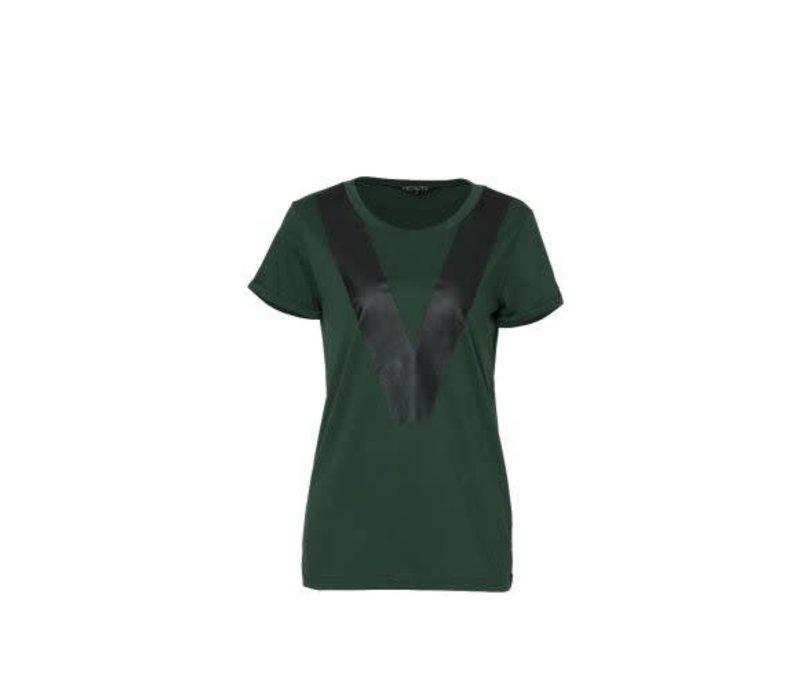 Heavn tshirt green richi