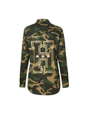 heavn Heavn blouse/jack army berlin