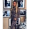Jacky luxury Jacky luxury jogging broek Leopard