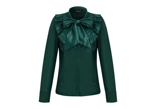 Given w blouse Loise emerald