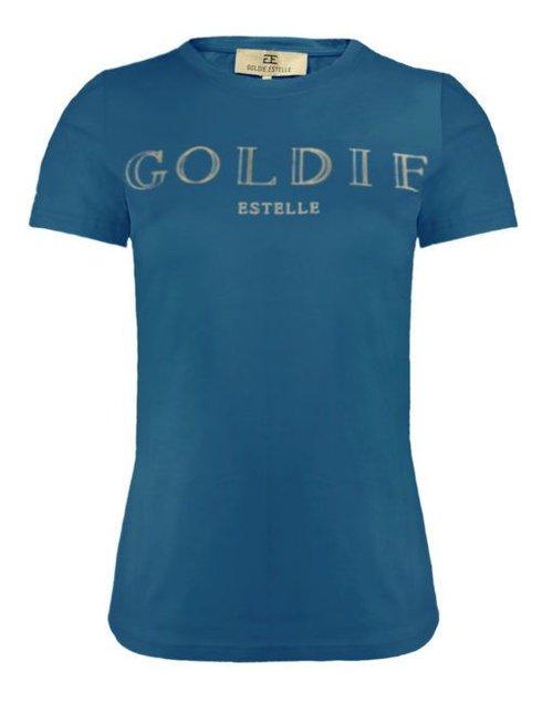 Goldie Estelle Goldie Estelle Bellisima T-Shirt Blauw