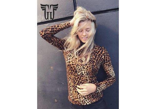 Janet beige leopard