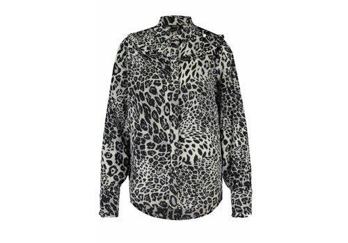 Given w blouse Ciska leopard black