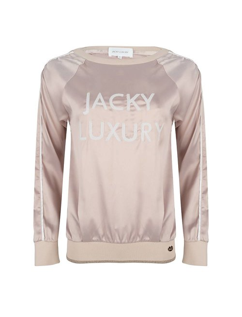 Jacky luxury Jacky Luxury sweater satin nude