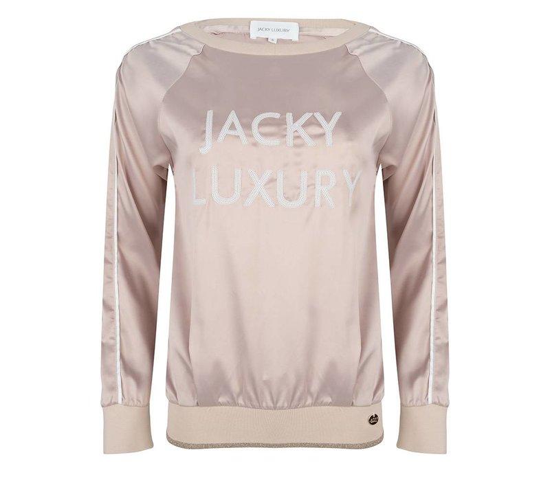 Jacky Luxury sweater satin nude