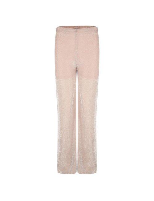 Jacky luxury Jacky Luxury trouser lurex nude