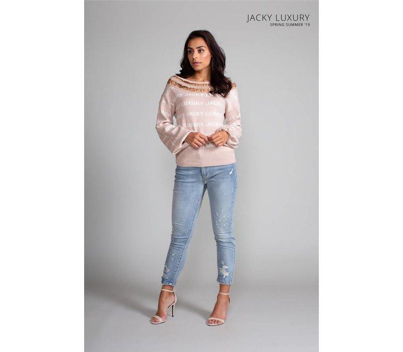 Jacky Luxury jeans damaged detail