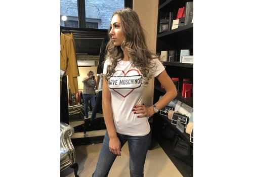 Love Moschino Love Moschino T shirt  heart white