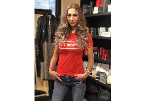 Love Moschino Love Moschino T-shirt heart red