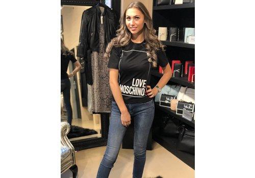 Love Moschino Love Moschino Tshirt black