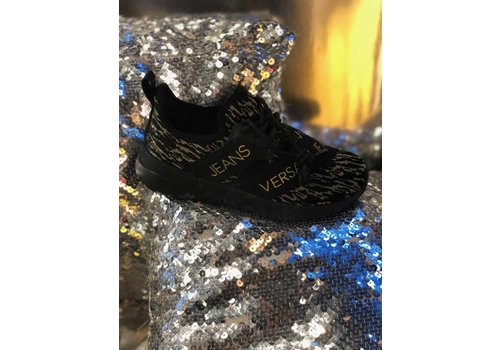 Versace jeans Versace jeans sneaker black & gold