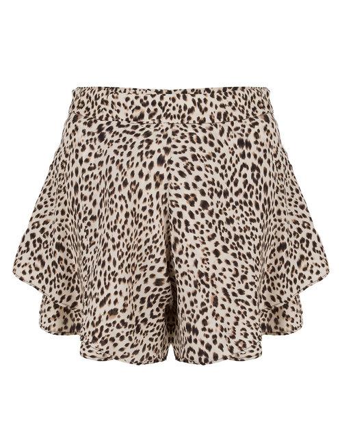 Jacky luxury Jacky Luxury short leopard