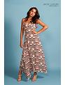 Jacky luxury Jacky Luxury jurk dress maxi print