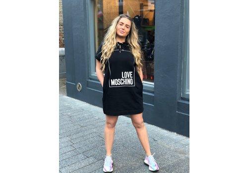 Love Moschino Love Moschino hoody dress black