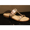 ASH ASH slipper Ariel rosegold with gold studs