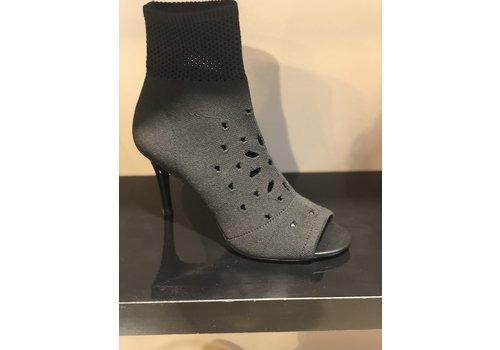 ASH Ash ankle boots knit black