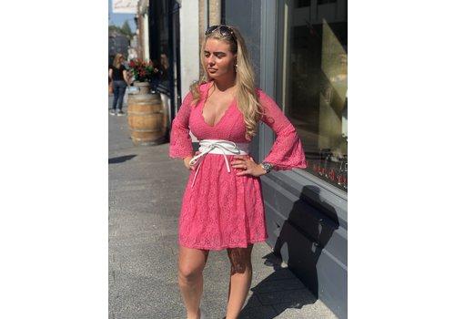 Chic Trash jurk lace rose