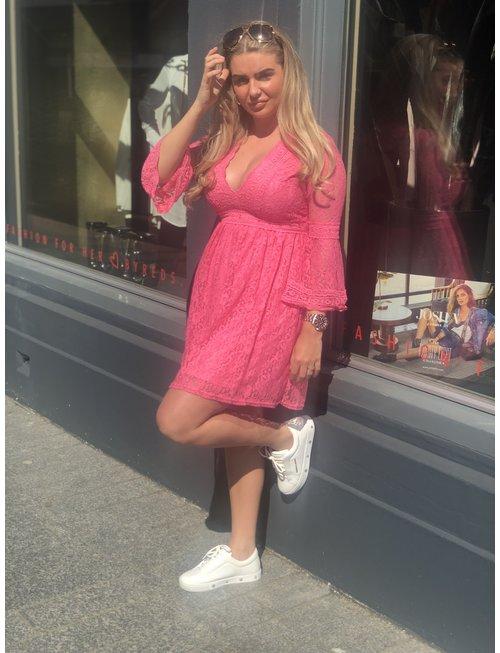 Chic Trash Chic Trash jurk lace rose