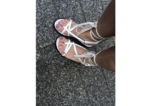 So Jamie SO JAMIE slipper lovely lace white