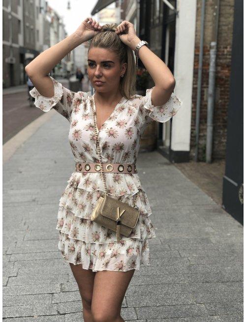 Chic Trash CHIC TRASH jurk Anouk off white