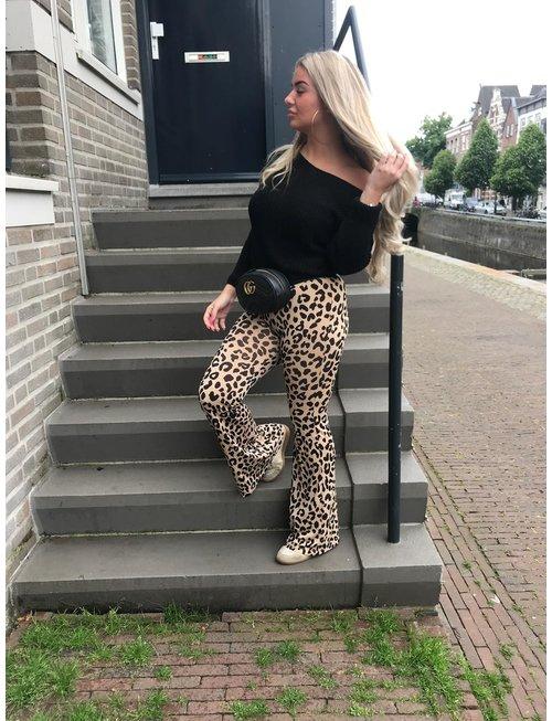 Chic Trash CHIC TRASH  flair  leopard