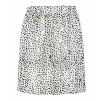 CHIC TRASH ROK GOLDEN DOTS WIT/zwart