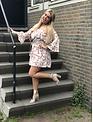 Chic Trash CHIC TRASH DRESS FLOWER/WIT