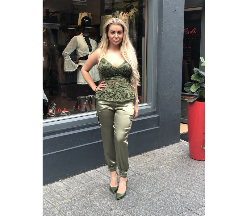 CHIC TRASH TOP LOVELY GREEN