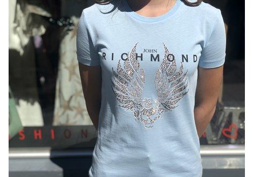 John Richmond John Richmond T shirt canalstreet blue light