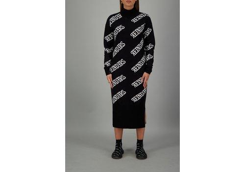 reinders reinders dress all over zwart