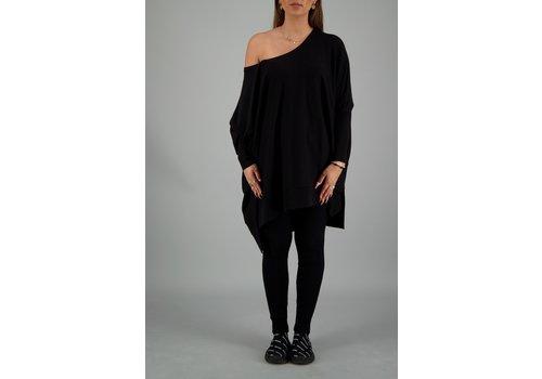 reinders Reinders loesje knitwear short zwart