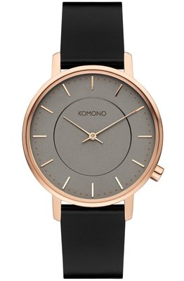 Komono Harlow Rose Gold Black