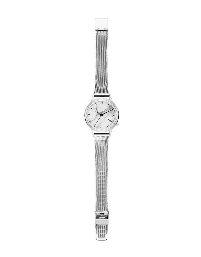 Komono Lexi Royale Marble - Silver White Marble