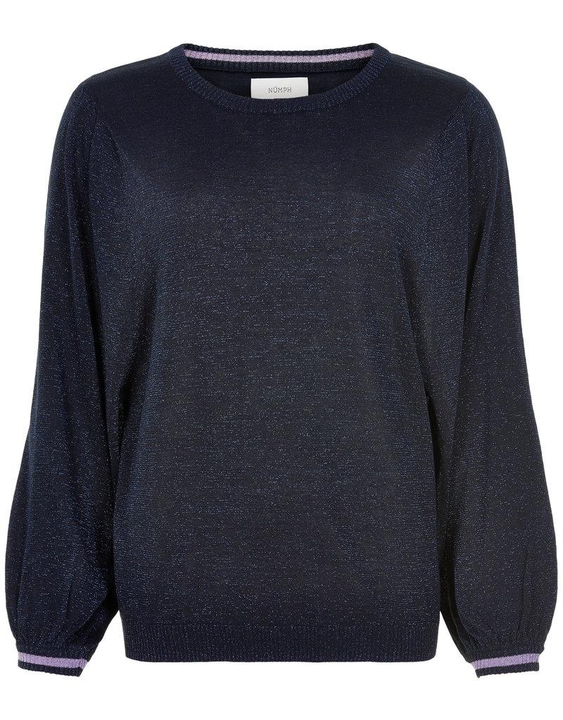 Nümph Lihni Pullover - Donkerblauw