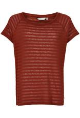 Nümph Leanna T-shirt Bordeaux